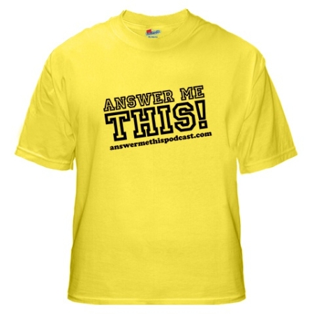 AMT yellow t-shirt