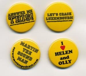 Super-cool AMT badges just 70p each