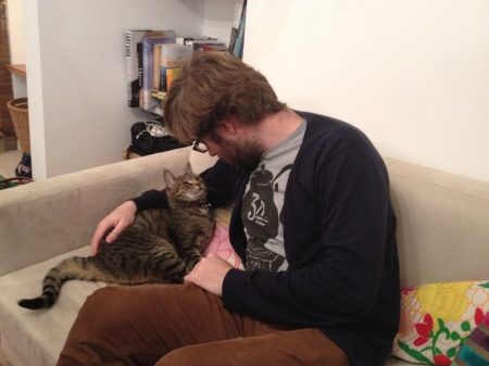 Martin steals Olly's cat's love