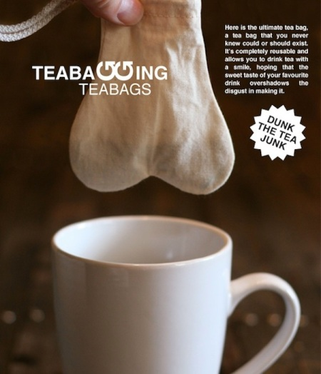 Teabagging-teabags