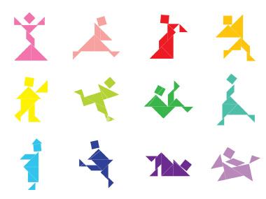 tangramfigures