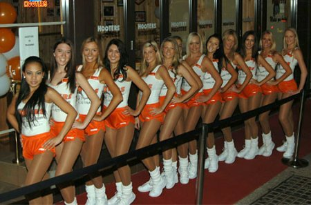 Physically diverse Hooters staff