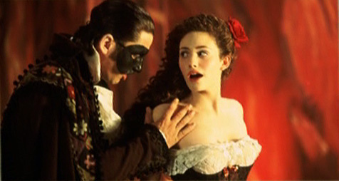 The phantom of the opera movie point of no return
