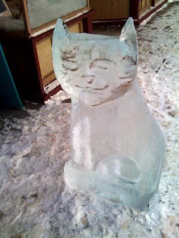 Cool-Brew-cat-ice-sculpture-2010