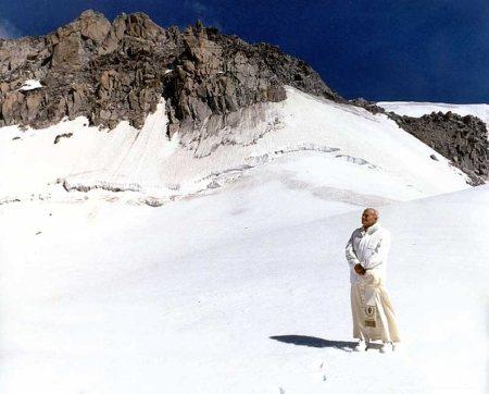 pope snow